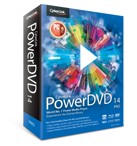 Cyberlink PowerDVD Ultra 14.0.441258 Full Version