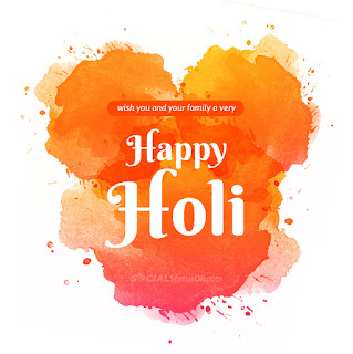 Happy Holi 2022 Wishes, Messages Image