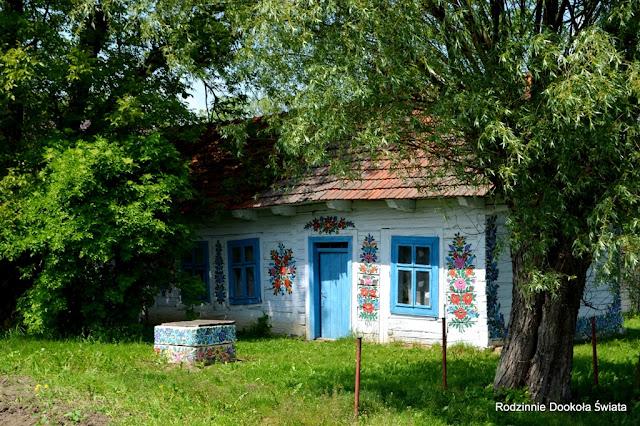 Malowane chaty w Zalipiu