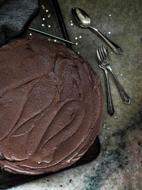 torta de cumpleaños de Dorie Greenspan