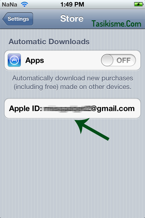 Ganti Apple ID di iPad
