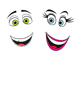 the Emoji Movie printable faces