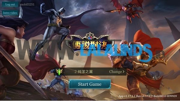Download Arena Of Valor Terbaru Versi Taiwan English Patch Full OBB