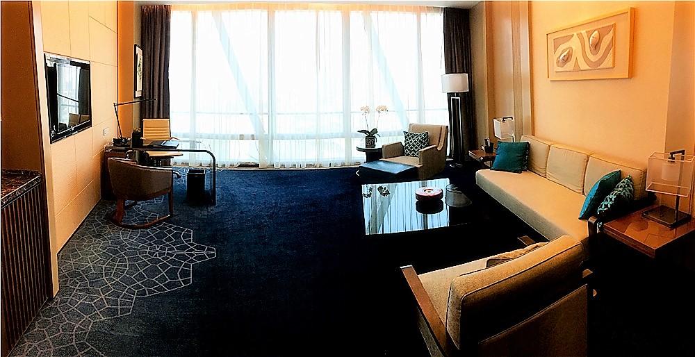 深圳前海華僑城JW萬豪酒店(JW Marriott Hotel Shenzhen Bao'an)-客廳
