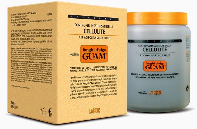 Fanghi Anticellulite alle Alghe Guam
