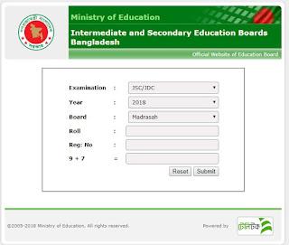 Madrasah Board JDC Result 2018 Check Online from www.bmeb.gov.bd