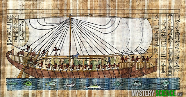 Barcos egipcios