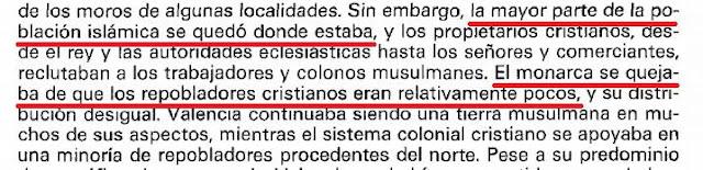 ¿Dicen que en el Reino de Valencia llegaron un montón de catalanes y aragoneses sustituyendo a la población autóctona? Pues mentira.