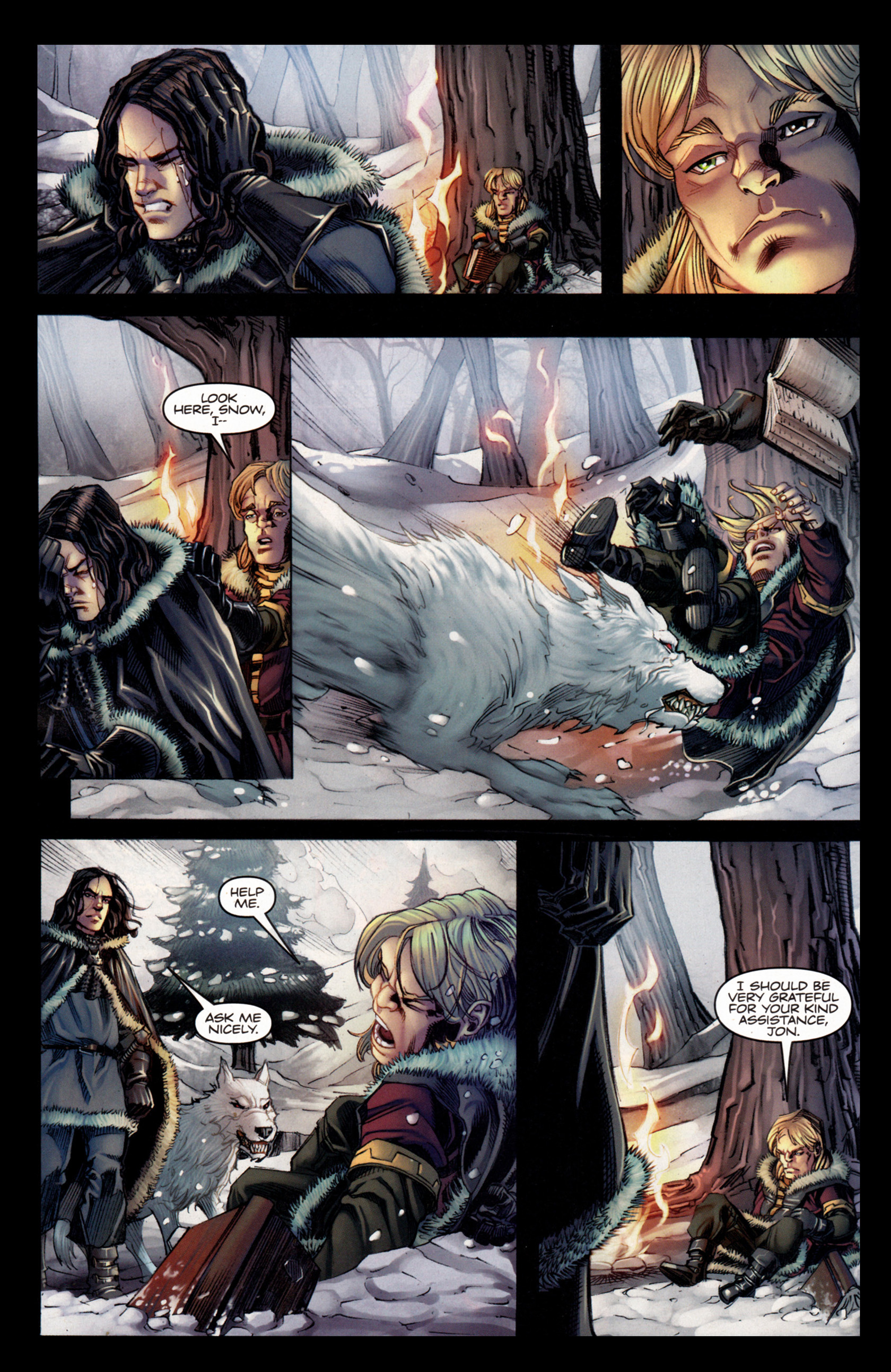 Read online A Game Of Thrones comic -  Issue #4 - 18