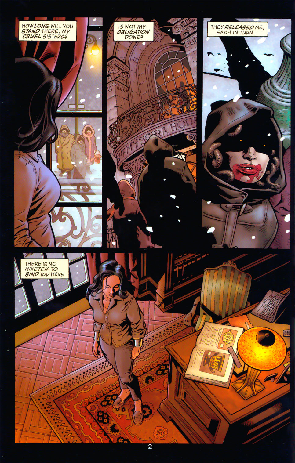 Read online Wonder Woman: The Hiketeia comic -  Issue # Full - 8