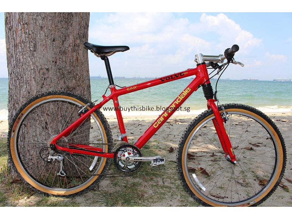 fe8b9b679 Retro and Awesome Old School Bikes  Cannondale Volvo Edition F700 ...