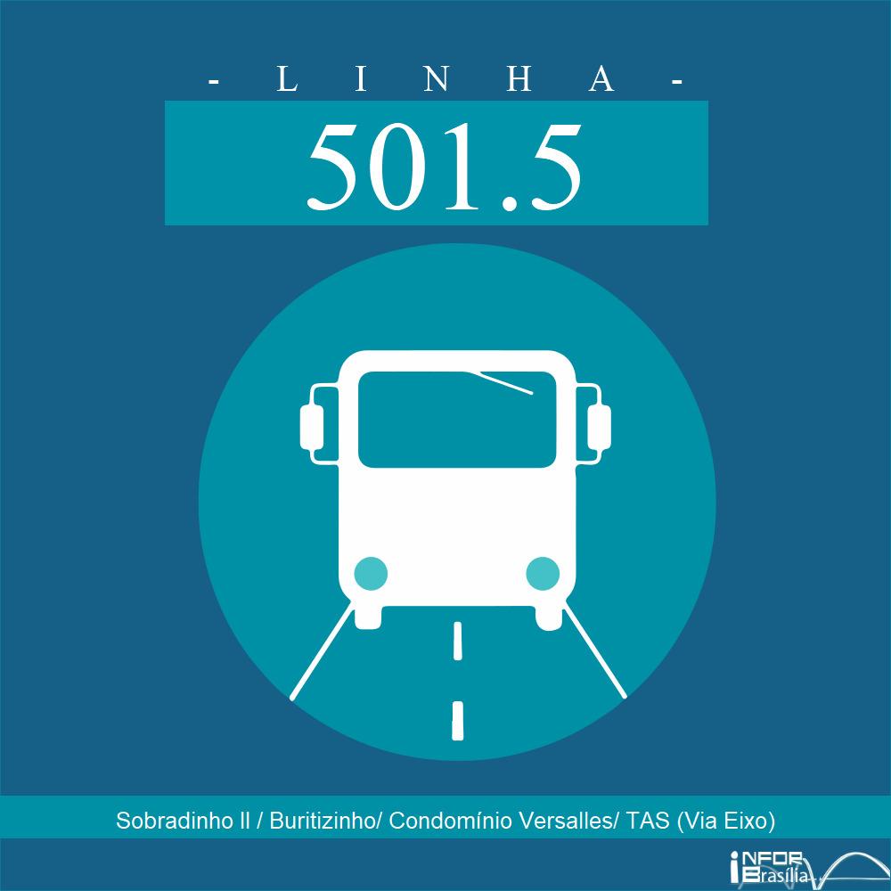 501.5 - Sobradinho II / Buritizinho / Cond. Versalles / EAS (Via Eixo)