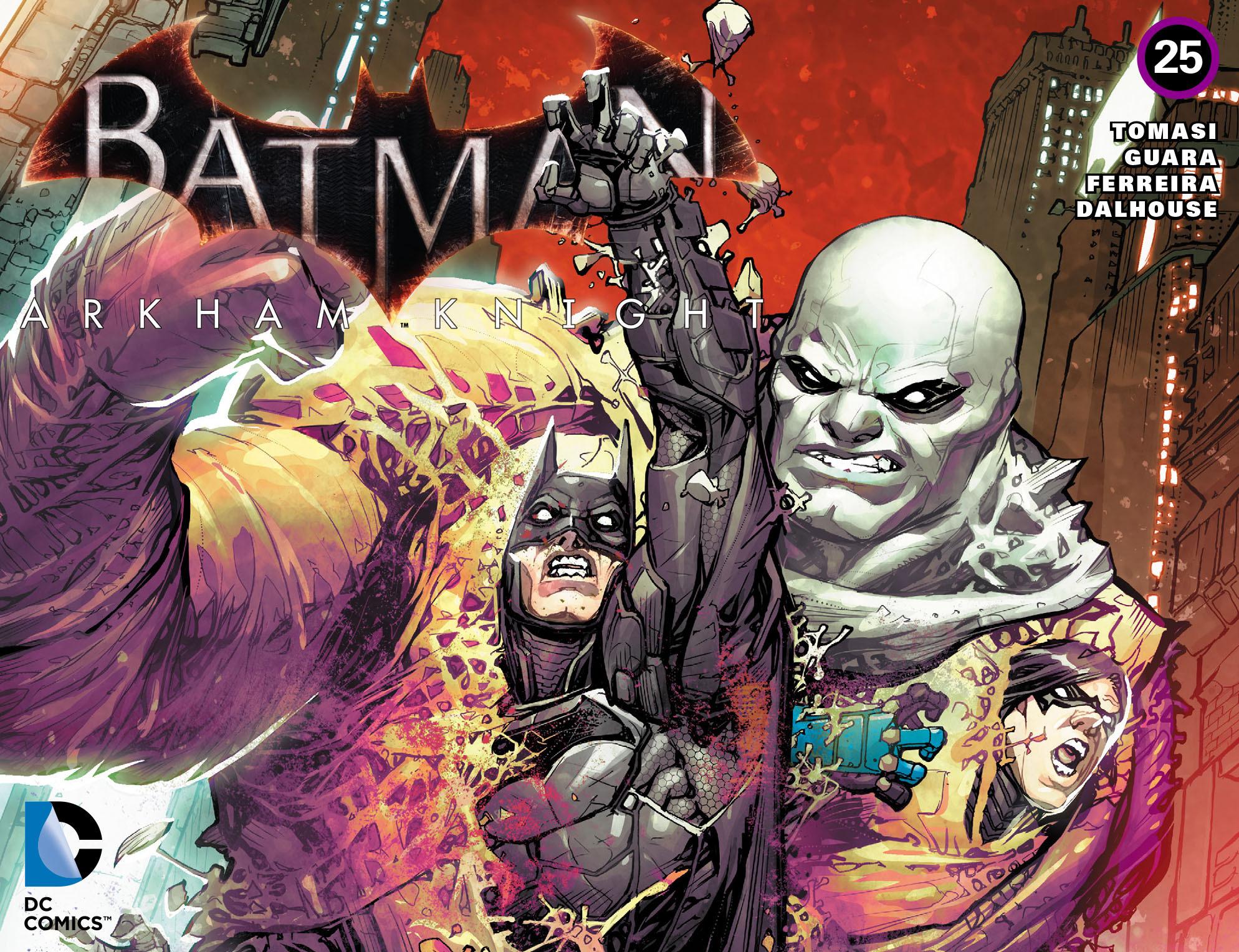 Batman: Arkham Knight [I] 25 Page 1