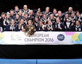 BALONMANO - Noruega es heptacampeona de Europa con un agónico y afortunado final frente a Holanda
