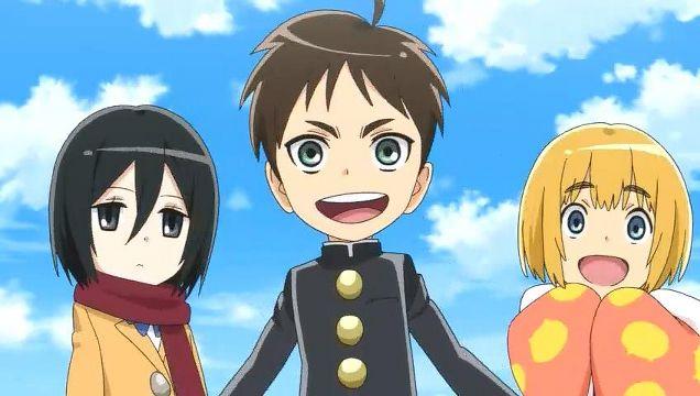 الحلقة 05 أنمي Shingeki! Kyojin Chuugakkou مترجم تحميل + مشاهدة