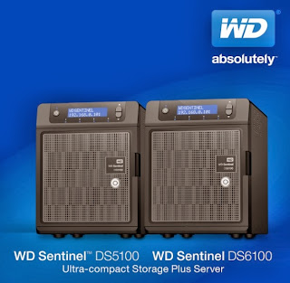 WD Sentinel DS5100 and DS6100