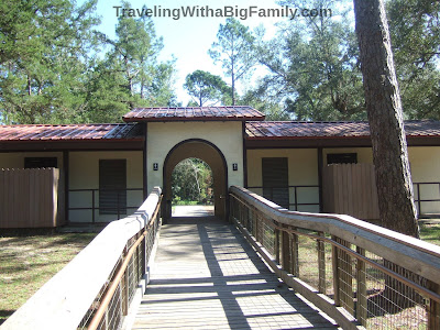 State park restroom facilities at Ponce de Leon Springs State Park
