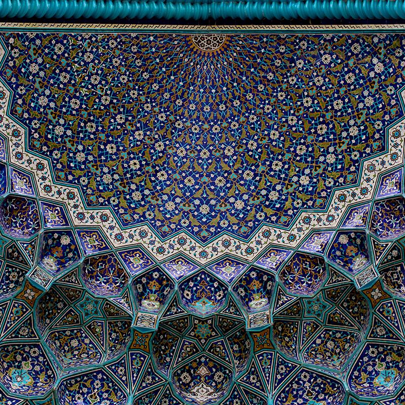 Мечеть Имама или Мечеть Шаха в Исфахане, Иран. Фото в блоге itdalee.ru