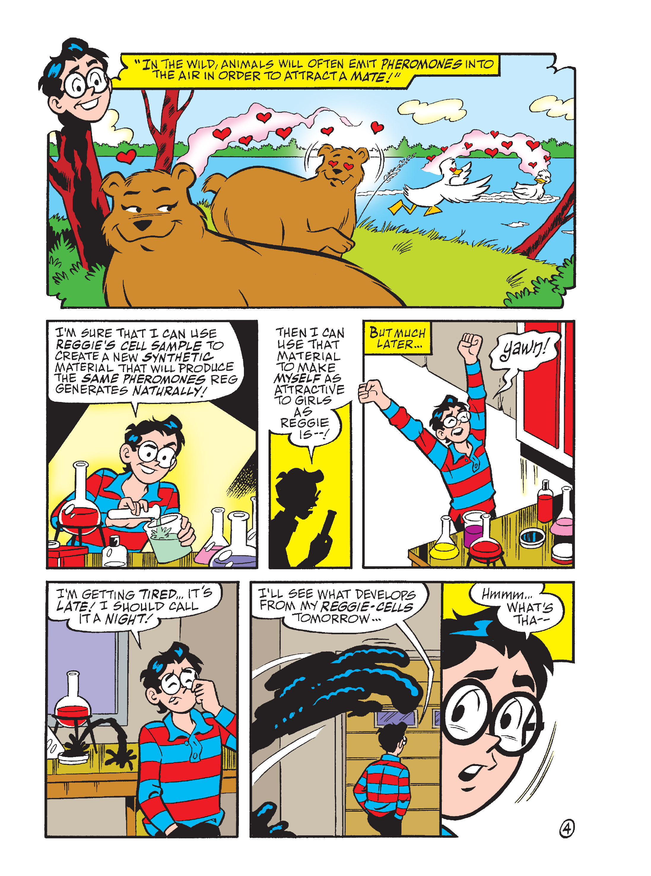 Read online Archie's Funhouse Double Digest comic -  Issue #15 - 188