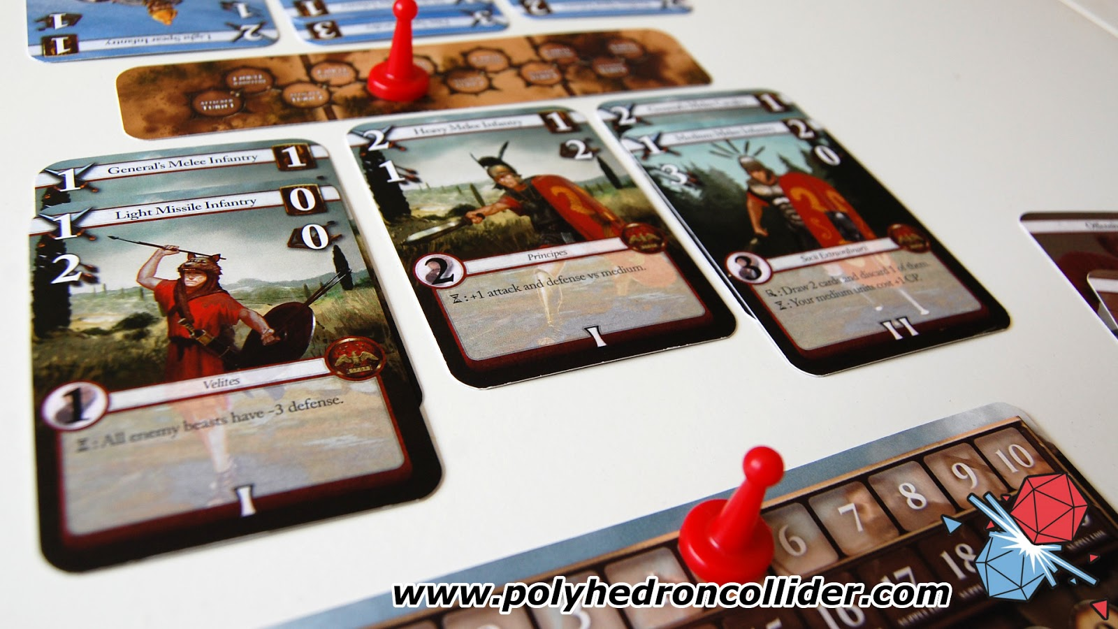 Burning rome Kickstarter review Roman cards
