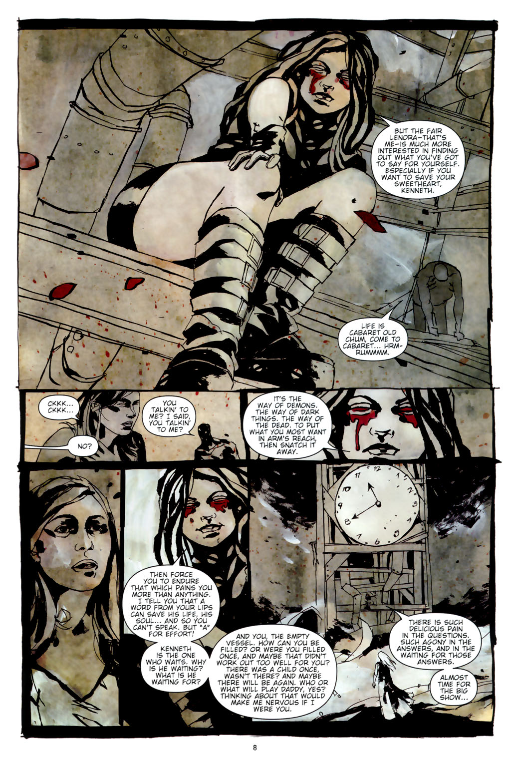 Read online Silent Hill: Dead/Alive comic -  Issue #3 - 10