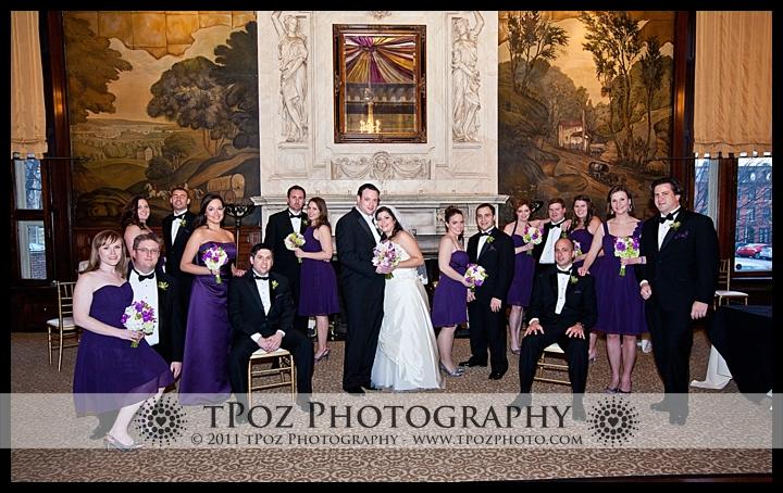 Belvedere Hotel Baltimore Wedding Photos