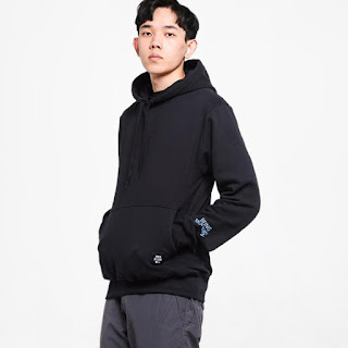 Wellborn X Blibli Era Hoodie Sweater - Blue