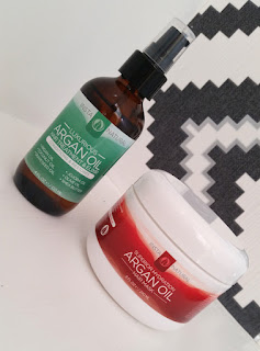 InstaNatural Argan Oil Hair Treatment & Elixir and Argan Oil Hair Mask