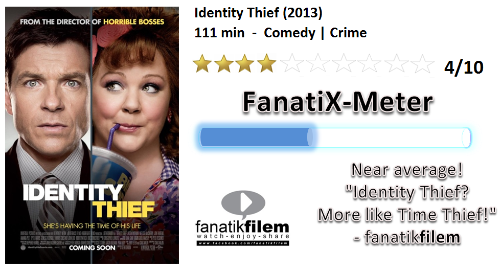 Nota Fanatik Filem Review Identity Thief 2013