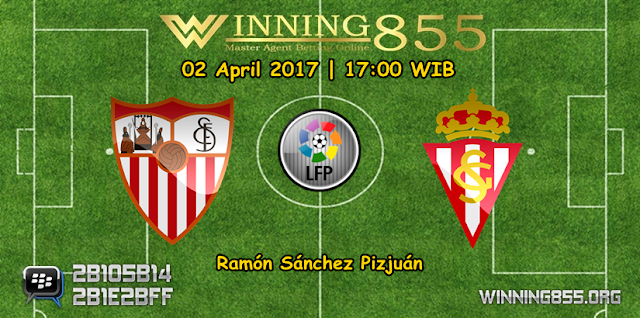 Prediksi Skor Sevilla vs Sporting Gijon 02 April 2017