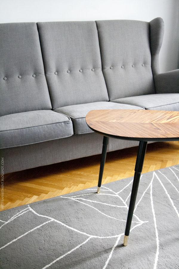 New things in the living room Ikea Strandmon three seat
