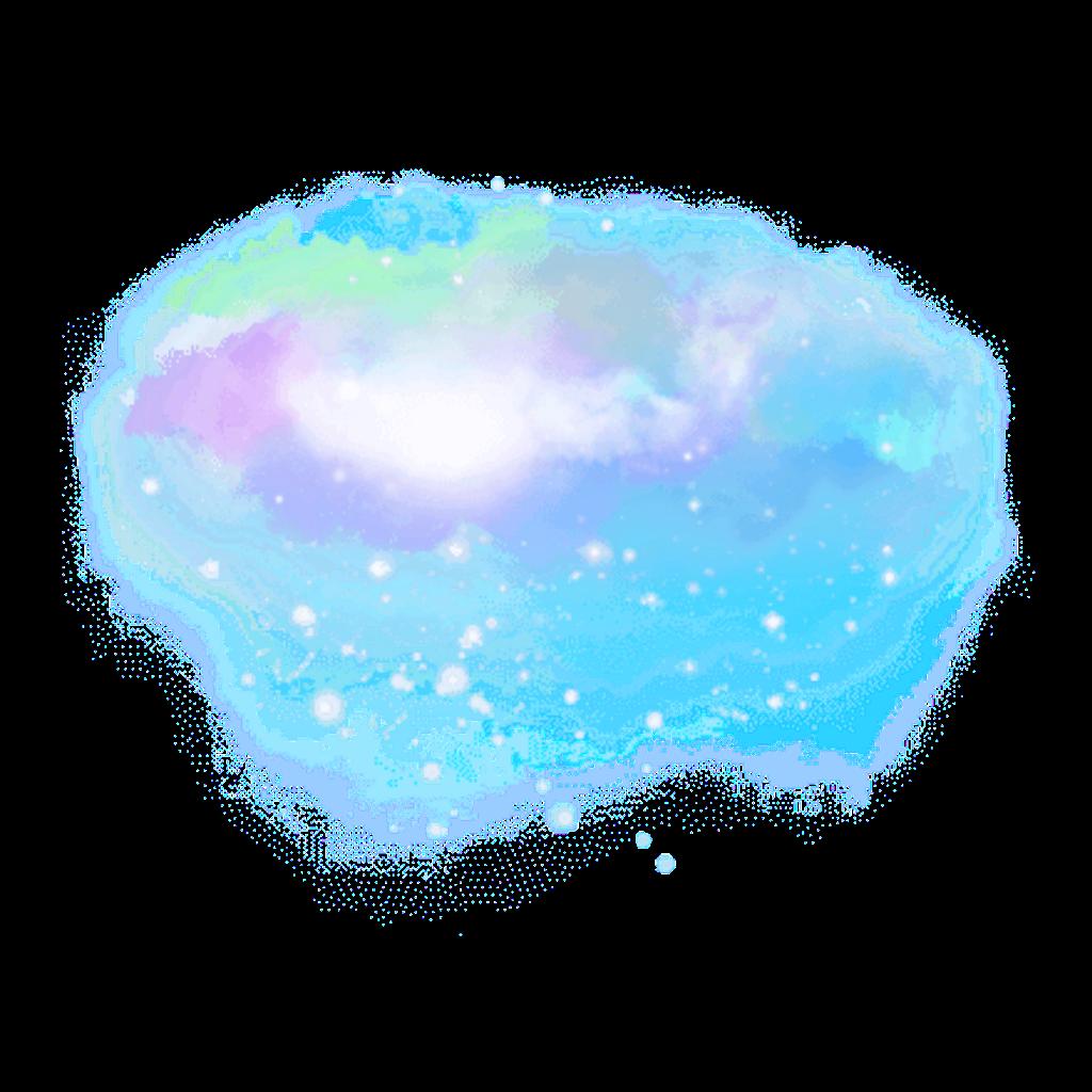 render nube galaxia