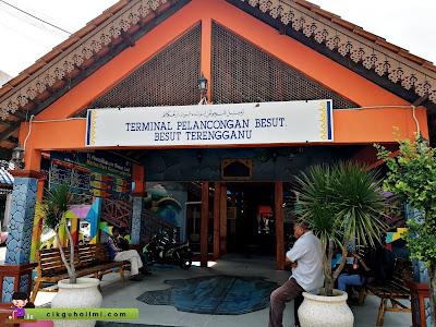 Terminal Pelancongan Besut, jeti utama nak ke Pulau Perhentian