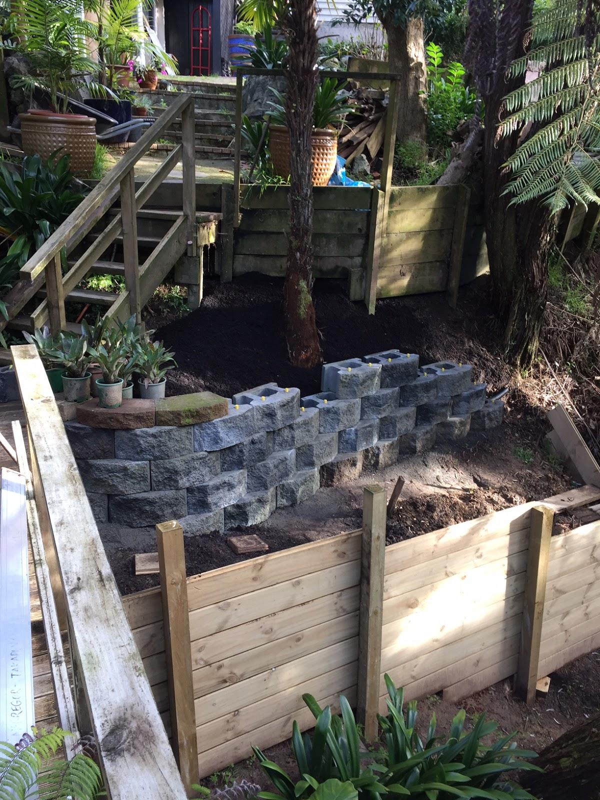 Dave S Garden More Retaining Walls