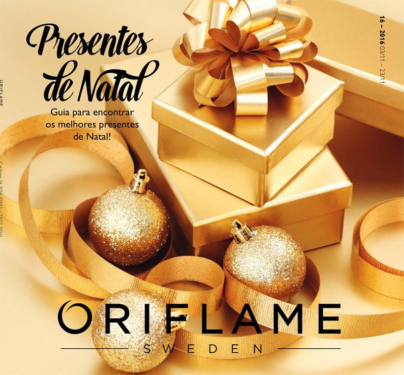 Catálogo 16 de 2016 da Oriflame