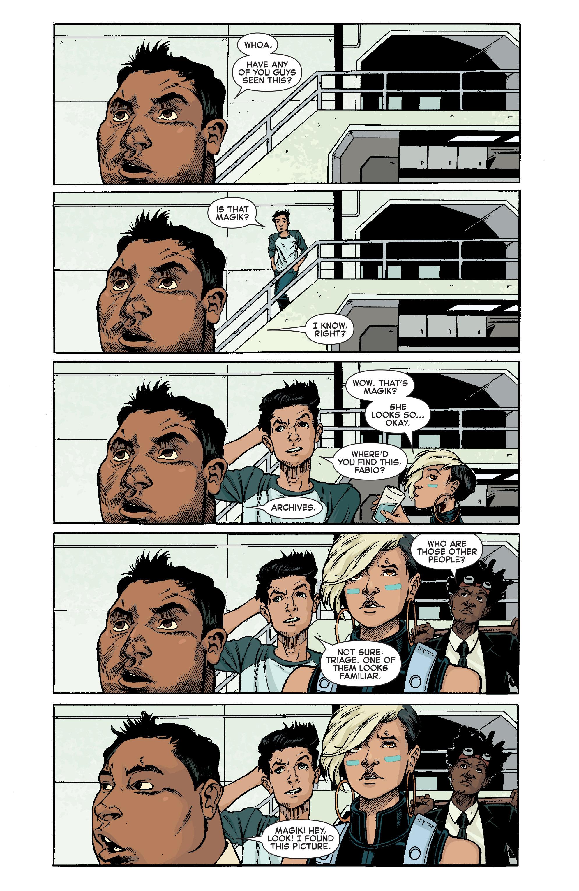 Read online Uncanny X-Men (2013) comic -  Issue # _Special 1 - 5