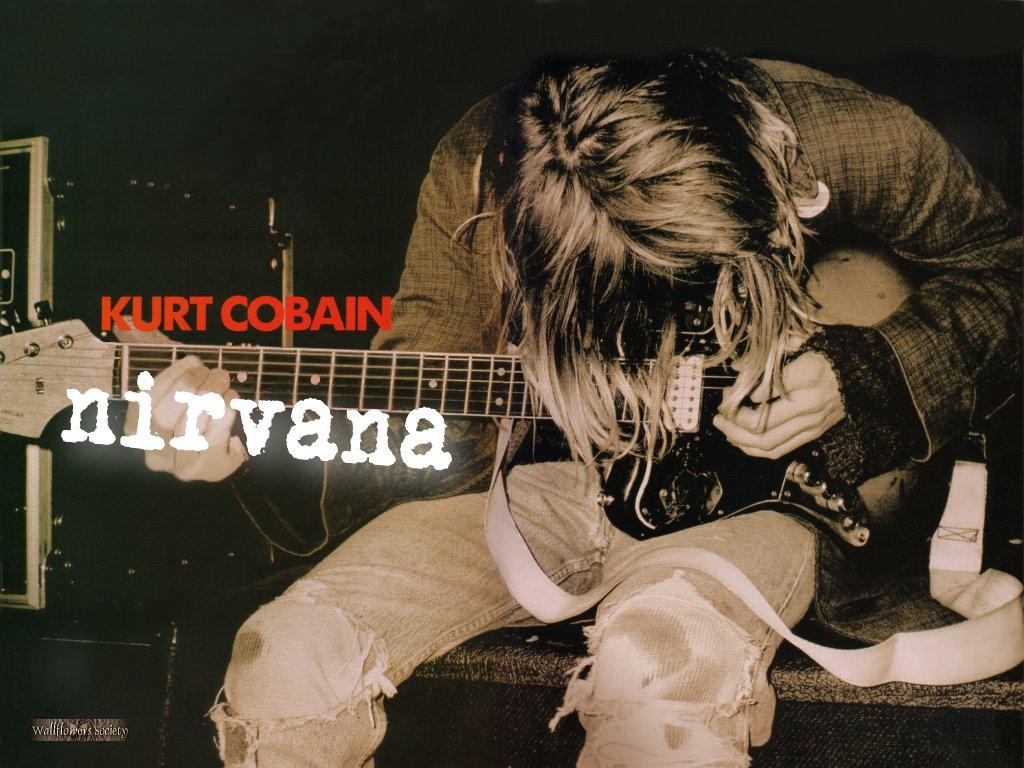 Los mejores guitarristas zurdos de la historia cursos de - Kurt cobain nirvana wallpaper ...