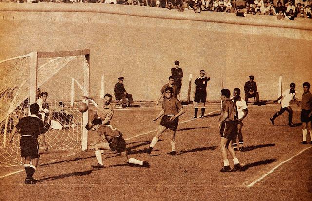 Chile y Perú en Copa del Pacífico 1954, partido de vuelta