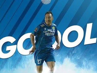 HT: Persib Bandung vs Pusamania Borneo FC 1-0