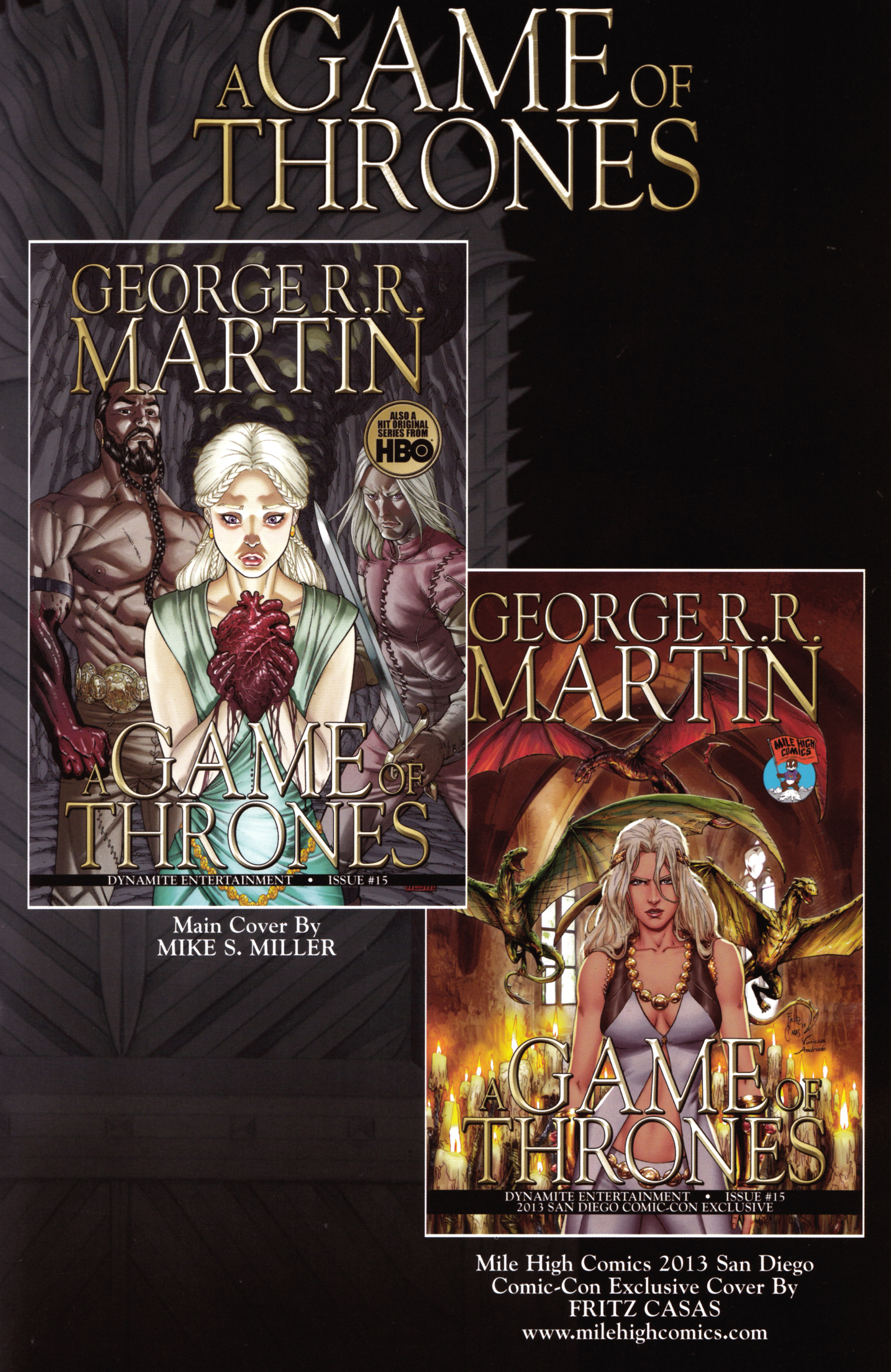 Read online A Game Of Thrones comic -  Issue #15 - 35