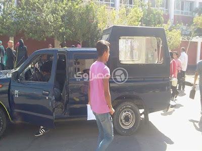 مديرية أمن القاهرة, سيارة شرطة مسروقة, منطقة مصر القديمة,