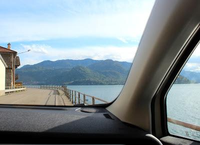 En coche por el Lago de Como