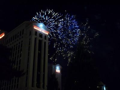 Fogos de artifício - Caesar´s Palace
