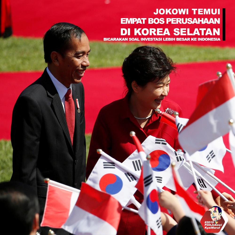 Jokowi Temui 4 Bos Perusahaan Di Korea Selatan Bicarakan Investasi Untuk Indonesia