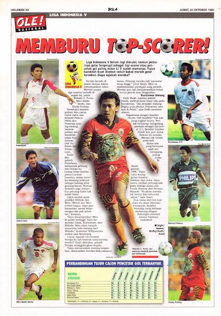 LIGA INDONESIA V MEMBURU TOP-SCORER