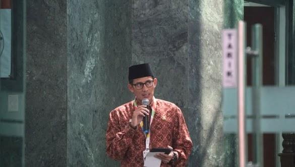 Hadiri Doa untuk Asian Games, Sandi Didoakan Jadi Pemimpin Indonesia