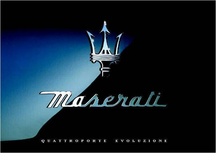 World Of Cars Maserati Logo