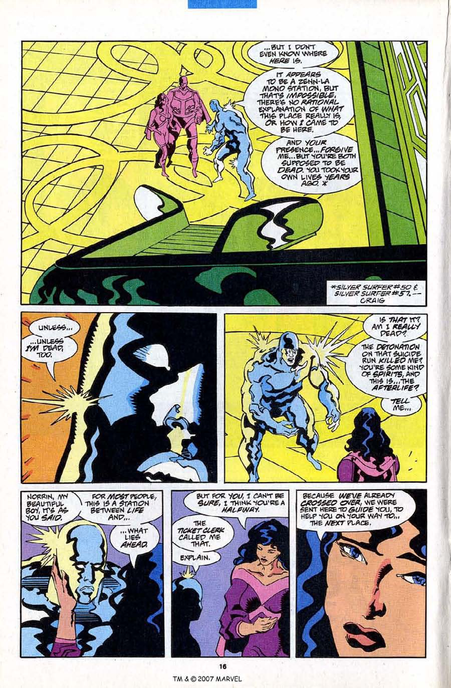 Read online Silver Surfer (1987) comic -  Issue #84 - 18