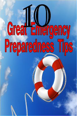 Be prepared in case of a Natural disaster or other threat with preparedness and knowledge you need now.  Check out these 10 great emergency preparedness tips today and be safe tomorrow.