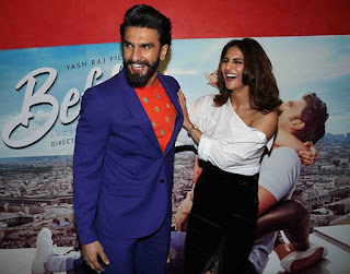 Romantic Love movie Befikre Ranveer Singh and Vaani Kapoor Chemistry watch pictures